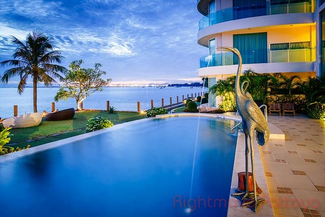 1 bedroom condo in banglamung for sale paradise ocean view  for sale in Naklua Pattaya