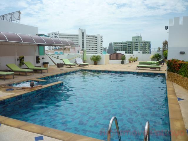 1 Bedroom Condo For Rent In Pratumnak-tara Court