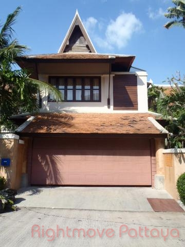 4 Bedrooms House For Rent In Jomtien-chateau Dale
