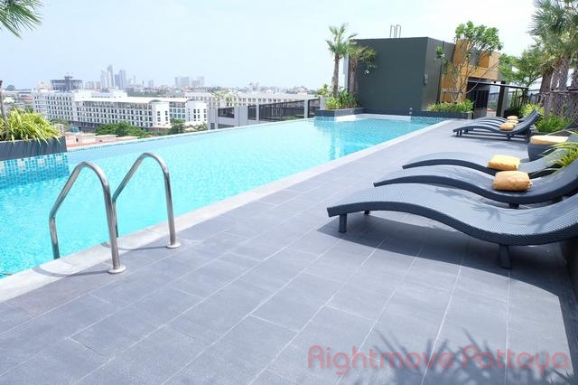 2 Bedrooms Condo For Rent In Central Pattaya-the Chezz
