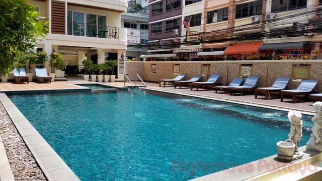 1 Bedroom Condo For Sale In Jomtien-paradise Residence 2