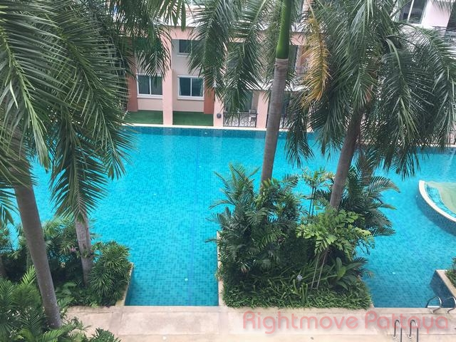 1 Bed Condo For Rent In Jomtien-paradise Park