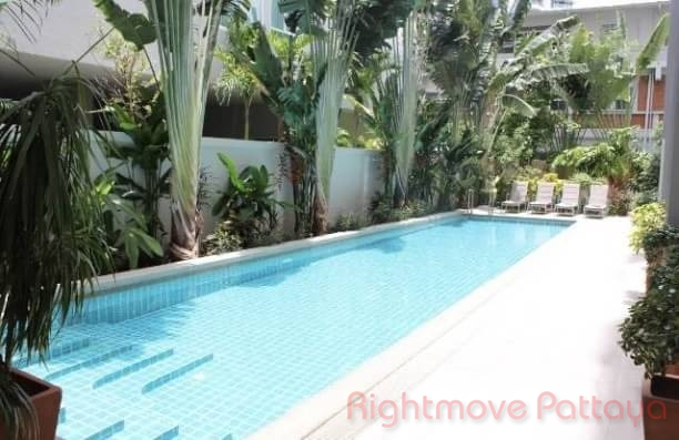 2 bedrooms condo for rent in pratumnak the place