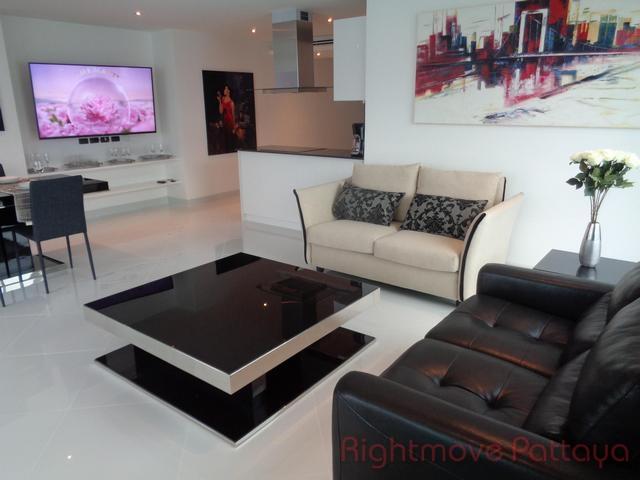 2 bedrooms condo for rent in pratumnak amari residences