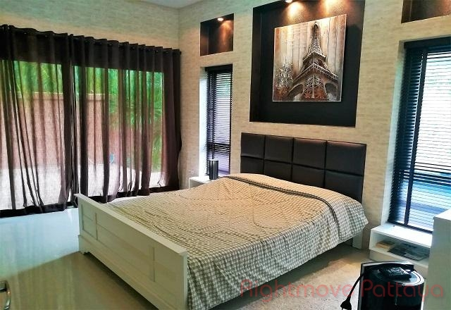 2 beds house for rent in east pattaya baan dusit pattaya