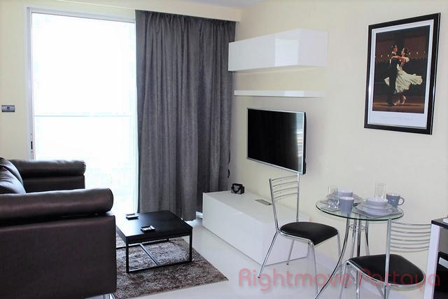 1 bed condo for rent in pratumnak amari residences