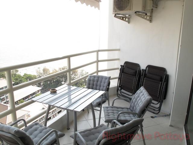 Studio condo for sale in jomtien view talay 5 c
