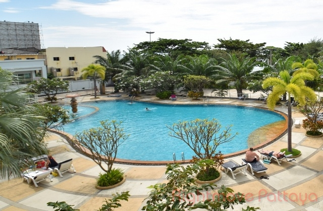 1 Bed Condo For Rent In Jomtien-view Talay 7
