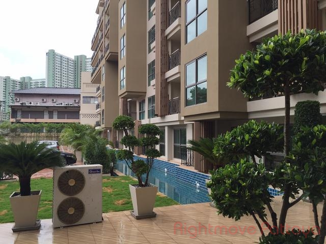 1 bed condo for rent in naklua city garden tropicana