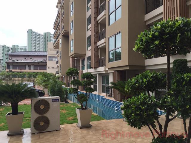 1 Bed Condo For Rent In Naklua-city Garden Tropicana