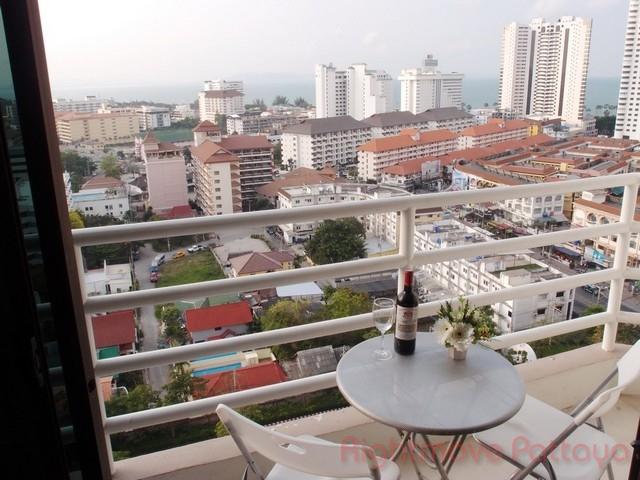 Studio Condo For Rent In Jomtien-view Talay 2 A