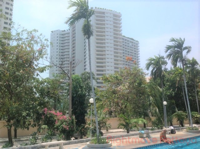 Studio Condo For Rent In Jomtien-view Talay 7