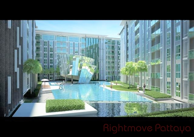 1 Bedroom Condo For Rent In Pattaya-city Center Residence