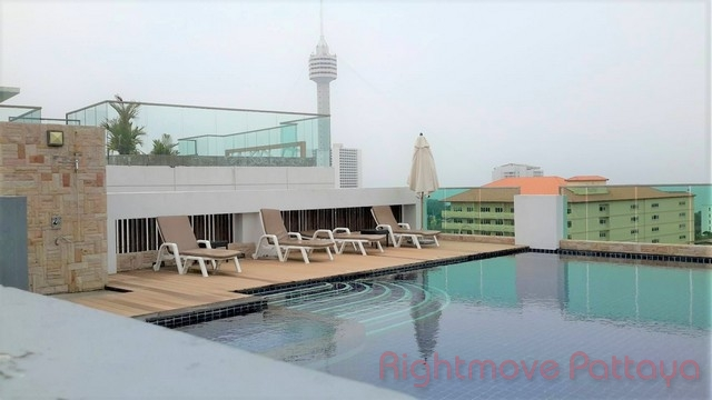 1 Bed Condo For Rent In Pratumnak-vn Residence 2