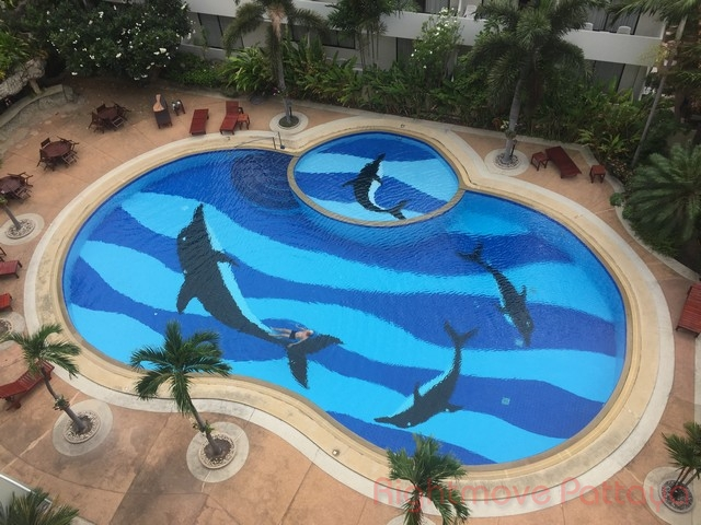 2 Beds Condo For Rent In Jomtien-view Talay Residence 1