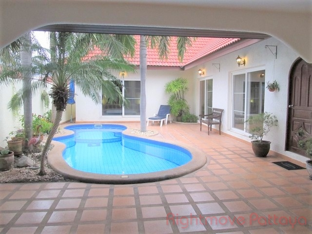 2 Bedrooms House For Rent In East Pattaya-nirvana Pool Villa 1