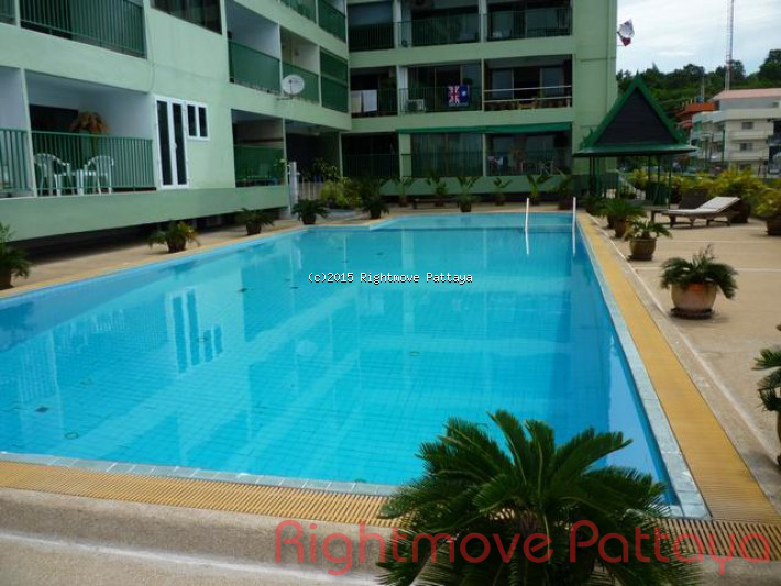 studio condo in pratumnak for rent sombat  to rent in Pratumnak Pattaya