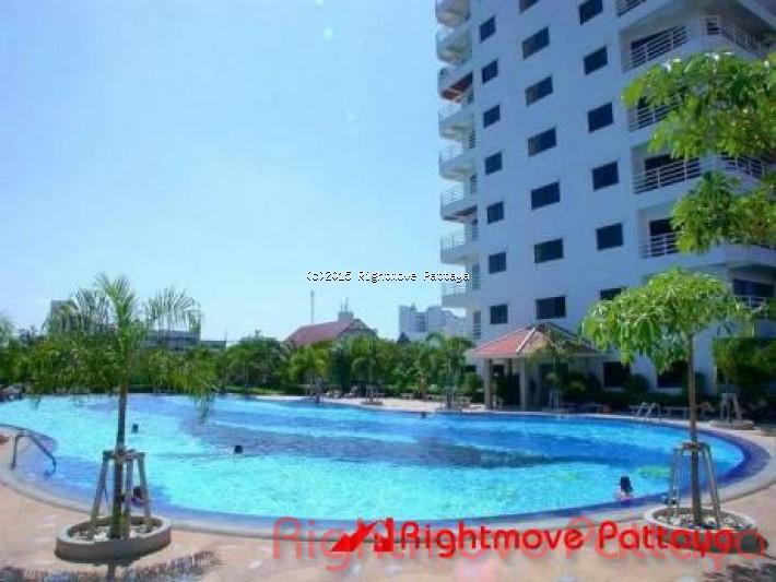 1 bedroom condo in jomtien for sale view talay 2 b724137869  for sale in Jomtien Pattaya