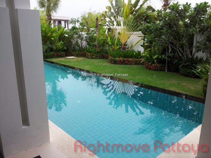 4 Bedrooms House For Rent In Jomtien-palm Oasis