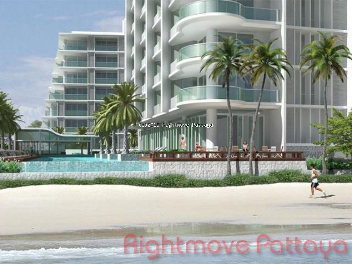 1 bedroom condo in na jomtien for sale beach front jomtien  for sale in Na Jomtien Pattaya
