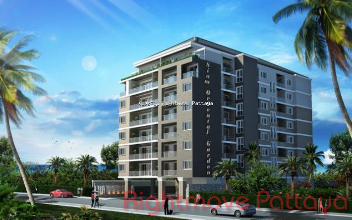 1 Bed Condo For Sale In Pratumnak-siam Orietal Garden