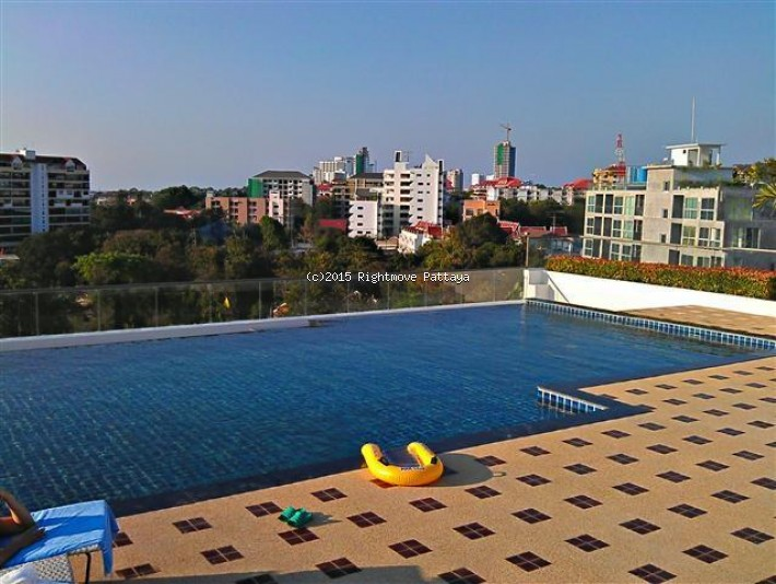 studio condo in pratumnak for rent nova ocean view  to rent in Pratumnak Pattaya