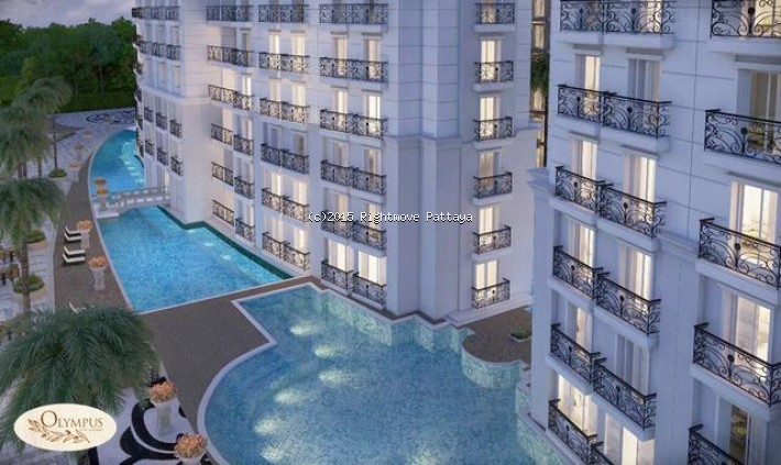 1 bedroom condo in south pattaya for sale olympus503807416  for sale in South Pattaya Pattaya