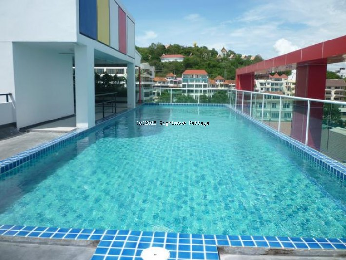 studio condo in pratumnak for rent art on the hill  to rent in Pratumnak Pattaya