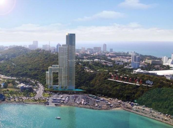 2 bedroom condo in south pattaya for sale waterfront  for sale in South Pattaya Pattaya