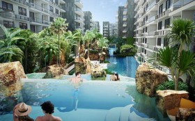 Amazon Residence Condo In Jomtien