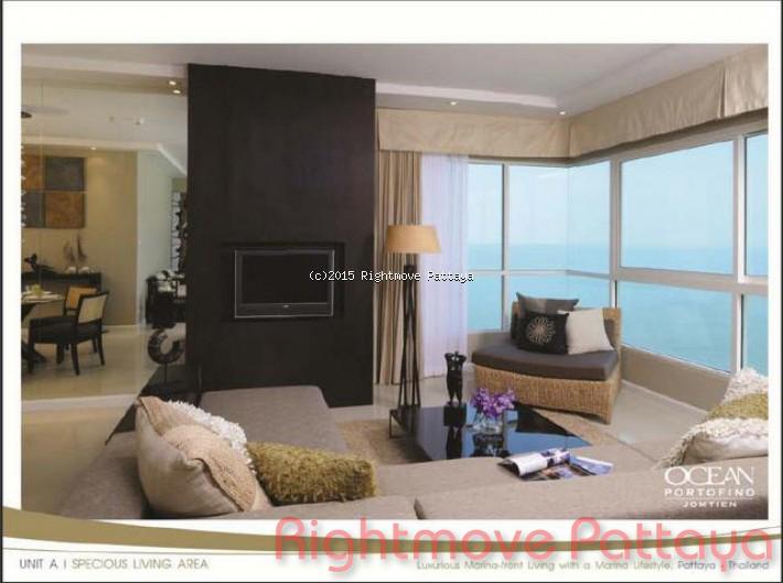 pic-3-Rightmove Pattaya 2 bedroom condo in na jomtien for sale ocean portofino1551081155   per la vendita In Na Jomtien Pattaya