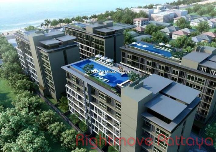 1 bedroom condo in jomtien for rent the gallery    att hyra i Jomtien Pattaya