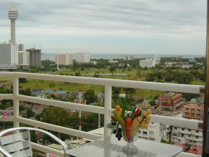 studio condo in jomtien for rent view talay 2 a272240055    att hyra i Jomtien Pattaya
