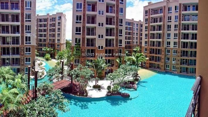 1 bedroom condo in jomtien for rent atlantis1504070640    att hyra i Jomtien Pattaya