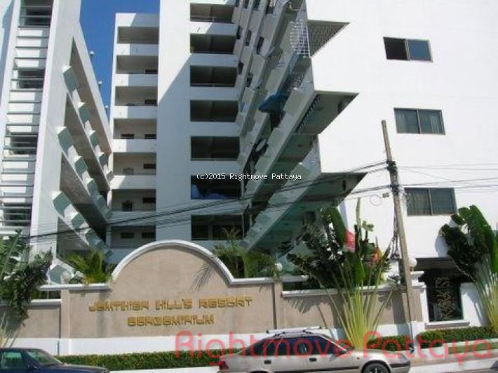 studio condo in pratumnak for sale jomtien hill resort  for sale in Pratumnak Pattaya