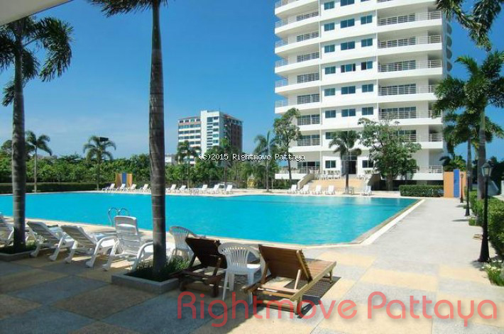 1 bedroom condo in jomtien for sale view talay 8    販売 で ジョムティエン パタヤ