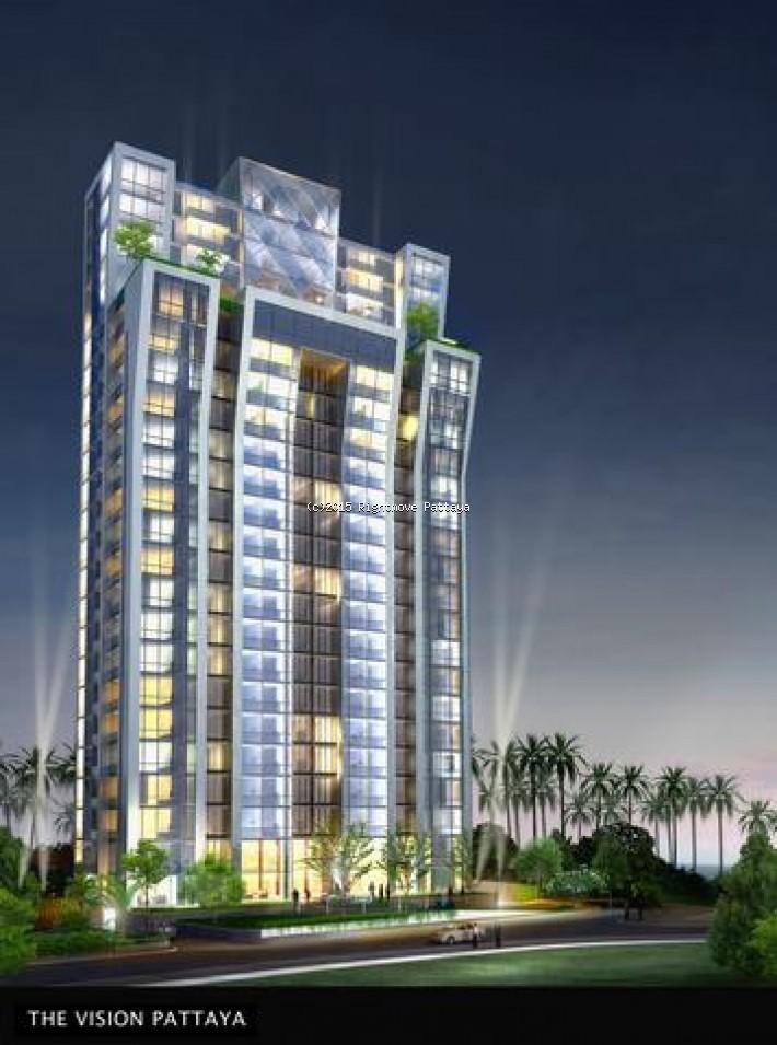 1 bedroom condo in pratumnak for sale vision76064774    出售 在 Pratumnak 芭堤雅
