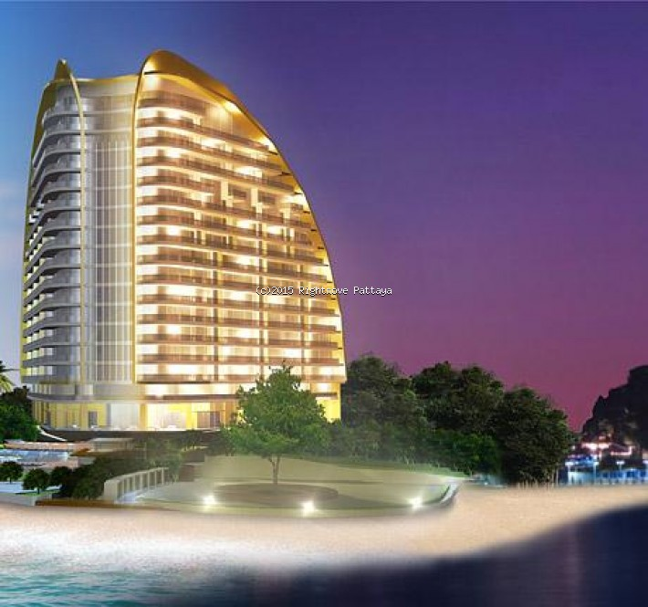 Rightmove Pattaya 1 bedroom condo in wongamart naklua for sale the cove   for sale in Wong Amat Pattaya