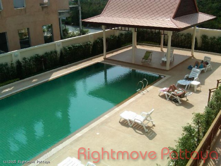 studio condo in pratumnak for rent emerald palace  to rent in Pratumnak Pattaya