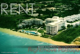 3 Beds Condo For Rent In Na Jomtien - Baan Somprasong