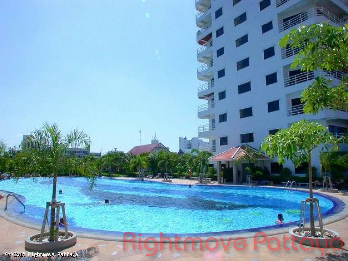 studio condo in jomtien for rent view talay 2 b  to rent in Jomtien Pattaya