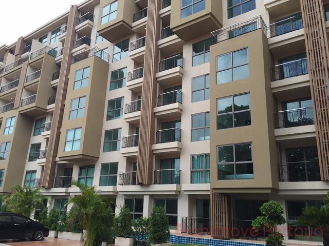 2 bedroom condo in wongamart naklua for sale city garden tropicana    te koop In Wong Amat Pattaya