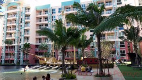 1 Bed Condo For Rent In Jomtien - Grand Caribbean