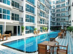 Studio Condo For Sale In Central Pattaya - The Avenue