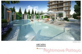 1 Bed Condo For Sale South Pattaya - Arcadia Center Suites
