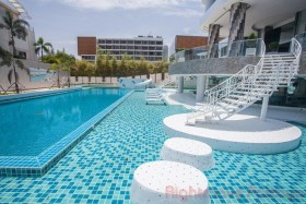 2 Bed Condo For Rent In Jomtien - The Residence