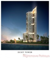 Studio Condo For Sale In Jomtien - Dusit Grand Tower