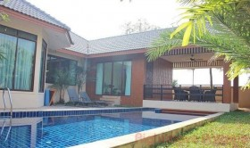 3 Beds House For Rent In East Pattaya - Nibbana Shade