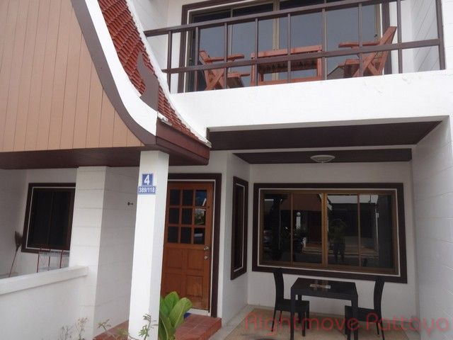 pattaya house hus till salu rent Pratumnak