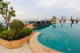 2 Bed Condo For Rent In Pratumnak - Hyde Park 1